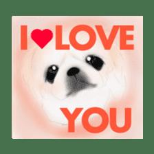 We Love Pekingese!! (English Version) sticker #7434170