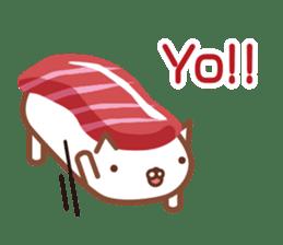 NIGIRI NEKO sushi-cats  (English) sticker #7438773