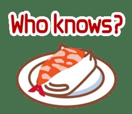 NIGIRI NEKO sushi-cats  (English) sticker #7438778