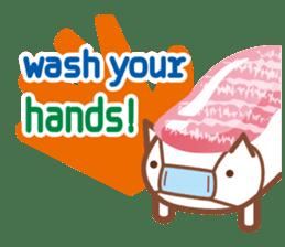 NIGIRI NEKO sushi-cats  (English) sticker #7438791