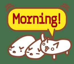 NIGIRI NEKO sushi-cats  (English) sticker #7438798