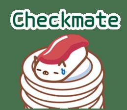 NIGIRI NEKO sushi-cats  (English) sticker #7438803