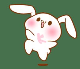 Moonlit night Child rabbit. Glitter! sticker #7440078
