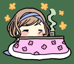 Girl's period (English ver) sticker #7443052