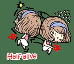Girl's period (English ver) sticker #7443054