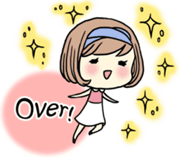Girl's period (English ver) sticker #7443060