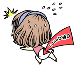 Girl's period (English ver) sticker #7443064