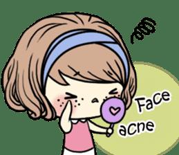 Girl's period (English ver) sticker #7443072
