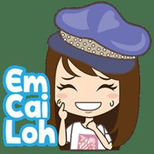 Cing Cing, Fun girl from Medan sticker #7444017