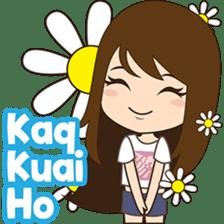 Cing Cing, Fun girl from Medan sticker #7444037