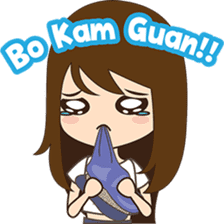 Cing Cing, Fun girl from Medan sticker #7444044