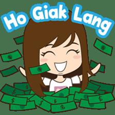 Cing Cing, Fun girl from Medan sticker #7444045