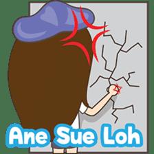 Cing Cing, Fun girl from Medan sticker #7444051