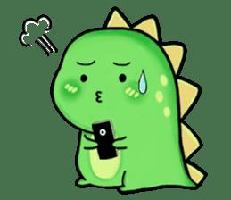 Chabosaurus sticker #7448694