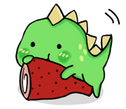 Chabosaurus sticker #7448698
