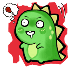 Chabosaurus sticker #7448706