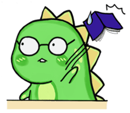 Chabosaurus sticker #7448714