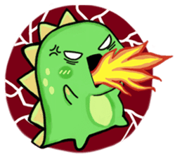 Chabosaurus sticker #7448722