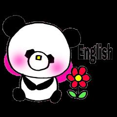 Let's talk in English sticker!