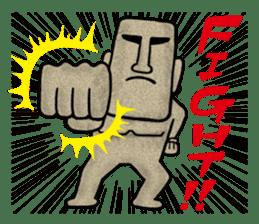 Mr.MOAI STATUE Part2 sticker #7452672