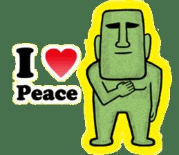 Mr.MOAI STATUE Part2 sticker #7452684