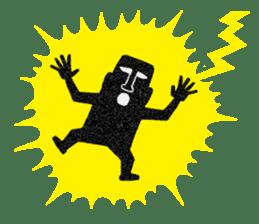 Mr.MOAI STATUE Part2 sticker #7452691