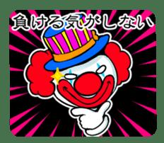 happy happy clown sticker #7454892