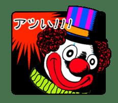 happy happy clown sticker #7454899