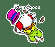happy happy clown sticker #7454902