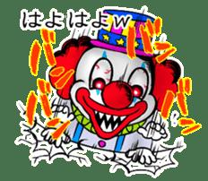 happy happy clown sticker #7454905