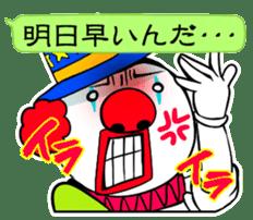 happy happy clown sticker #7454908