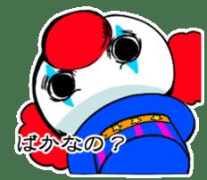 happy happy clown sticker #7454927