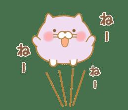 chubby animal sticker #7455942