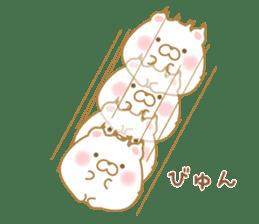 chubby animal sticker #7455946