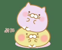 chubby animal sticker #7455947
