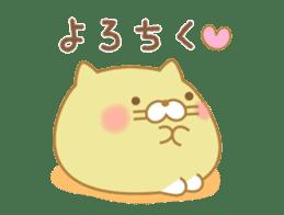 chubby animal sticker #7455953