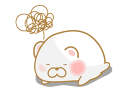 chubby animal sticker #7455955