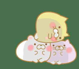 chubby animal sticker #7455958