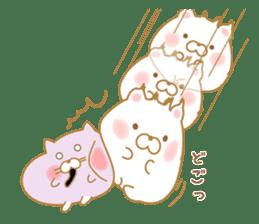 chubby animal sticker #7455962