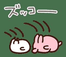 Piske&Usagi. (KANSAI-BEN) by Kanahei sticker #7457019