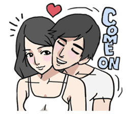 AsB - Comic Girls (My Close Guys!) sticker #7461990