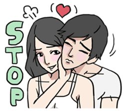 AsB - Comic Girls (My Close Guys!) sticker #7461991