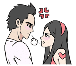 AsB - Comic Girls (My Close Guys!) sticker #7462000