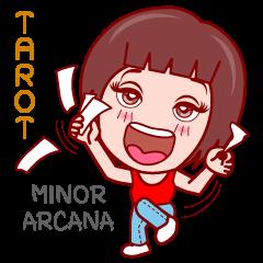 Gigi in TAROT World (Minor Arcana)