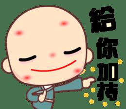 I am a happy zenman sticker #7473317