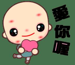 I am a happy zenman sticker #7473328