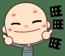I am a happy zenman sticker #7473347
