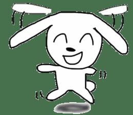 Super high spirits rabbit sticker #7473716