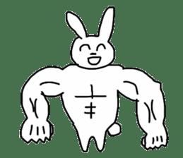 Super high spirits rabbit sticker #7473745