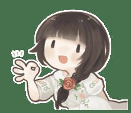 Forest girls sticker #7486109